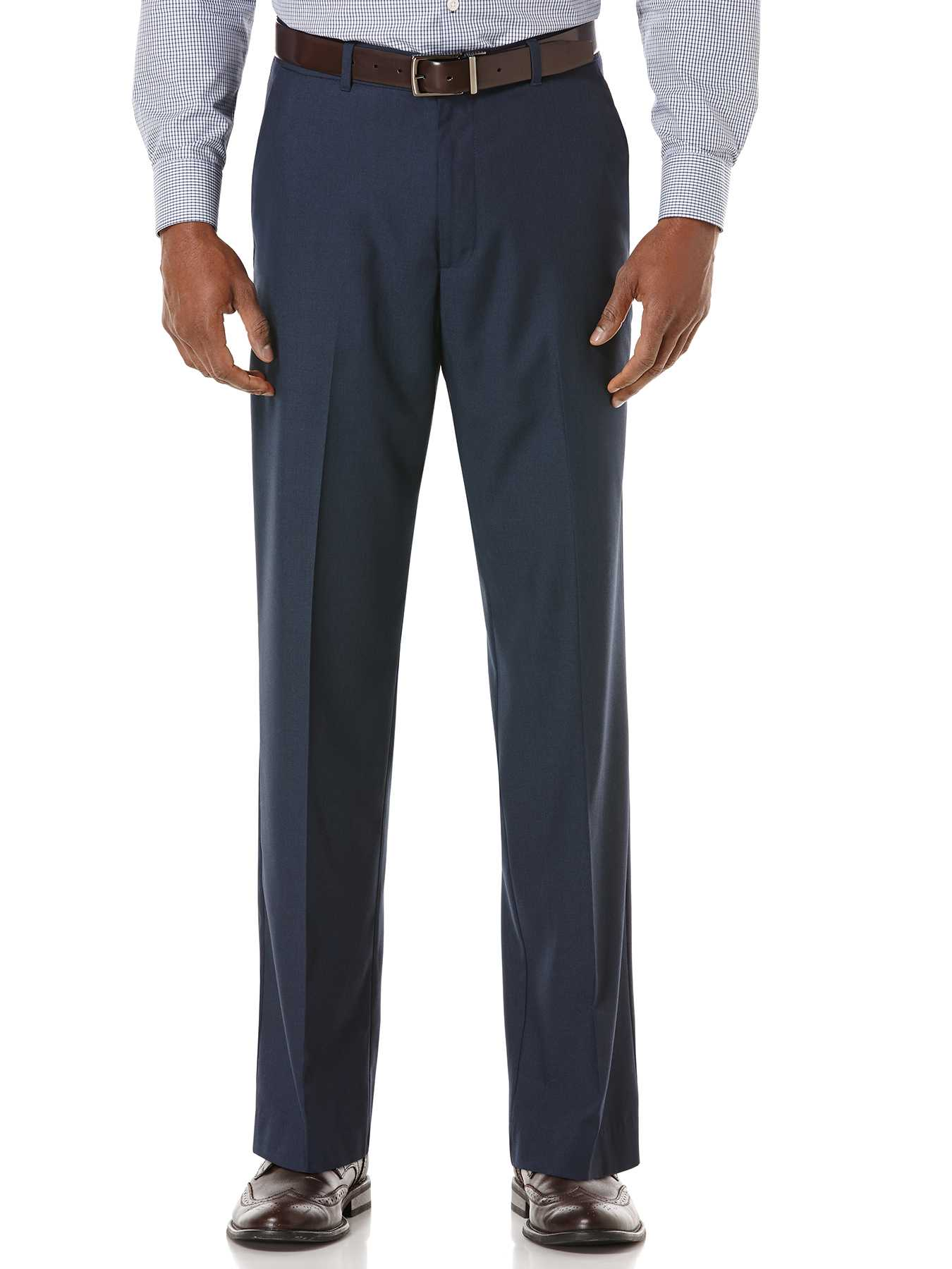 Perry Ellis Classic Fit Corded Solid Suit Pant