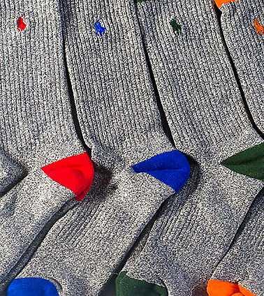 POLO MENS Grey Accessories / Socks 10-13