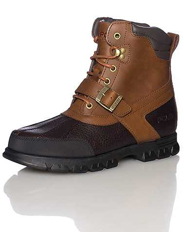 POLO FOOTWEAR MENS Brown Footwear / Boots 8.5
