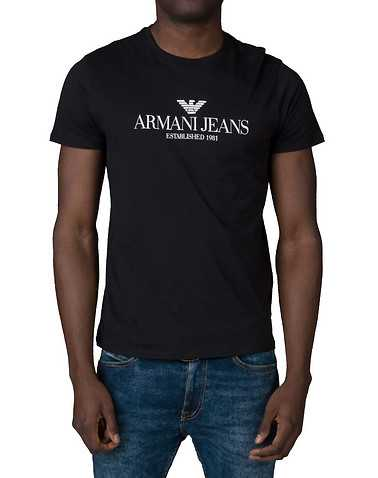 ARMANI JEANSENS Black Clothing / Tops