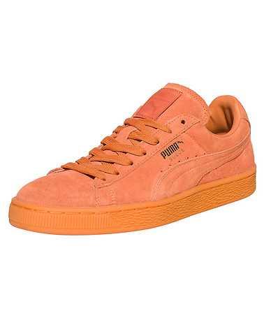 PUMA MENS Orange Footwear / Sneakers