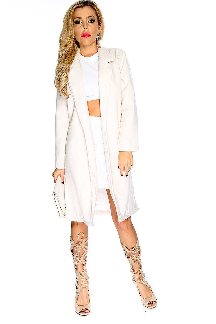 Rice Slit Coat Outerwear