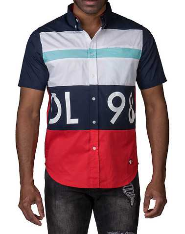DIAMOND SUPPLY COMPANY MENS Navy Clothing / Button Down Shirts S