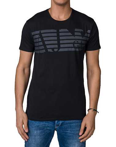 ARMANI JEANS MENS Black Clothing / Tops L