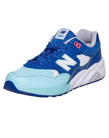 NEW BALANCE GIRLS Blue Footwear / Sneakers 5.5Y