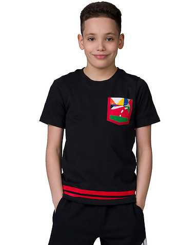 NIKE BOYS Black Clothing / Short Sleeve T-Shirts S