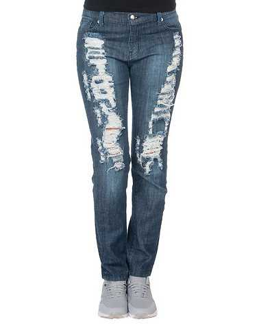 APHRODITE WOMENS Blue Clothing / Jeans