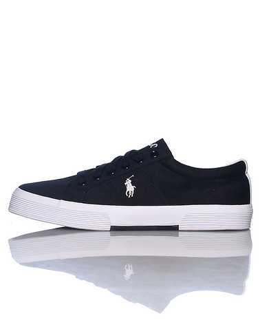 POLO FOOTWEAR MENS Black Footwear / Casual 10.5