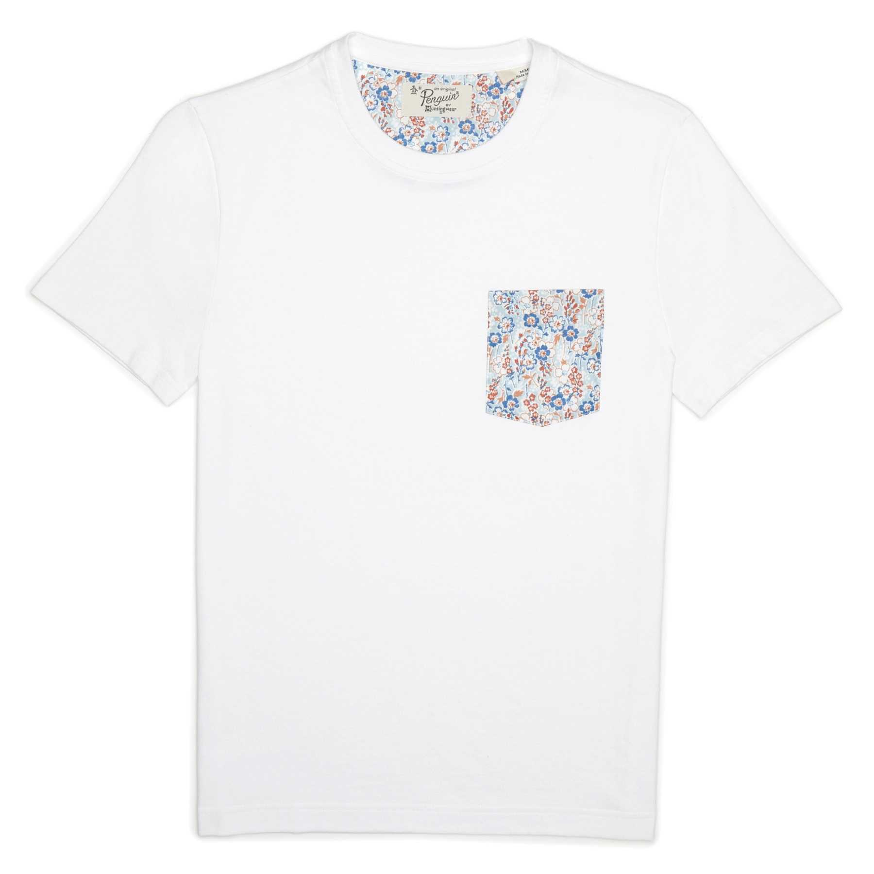 Original Penguin FLORAL PATCH POCKET TEE
