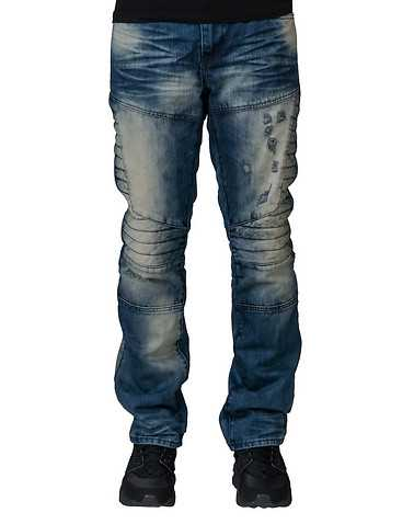 RAW AND DIRTY MENS Blue Clothing / Jeans 36