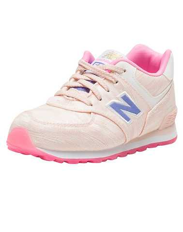 NEW BALANCE GIRLS Pink Footwear / Sneakers