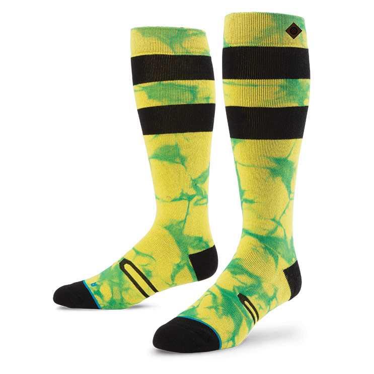 Stance Burner YEL S/M FUSION SNOW Socks