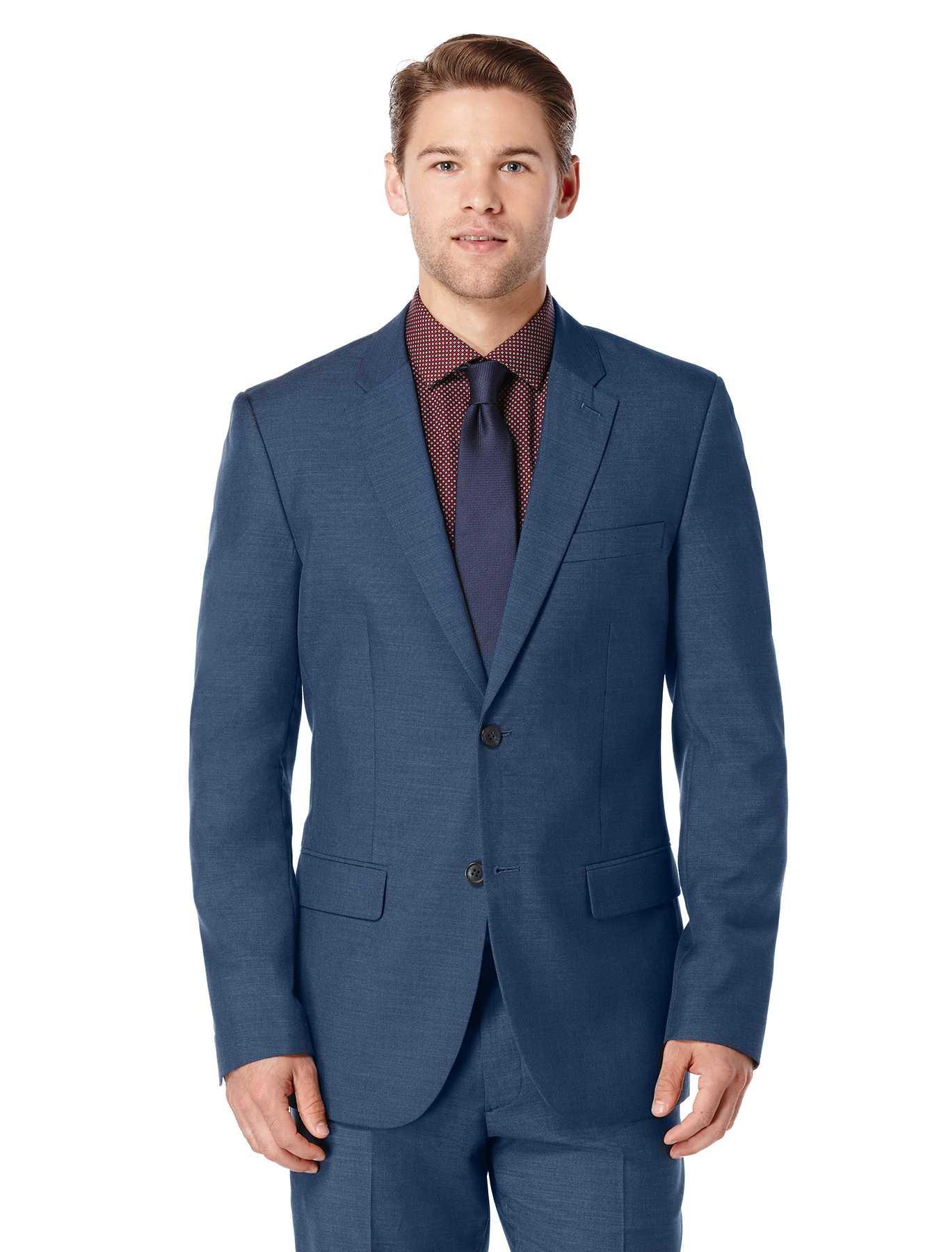Perry Ellis Slim Fit Two Toned Suit Jacket