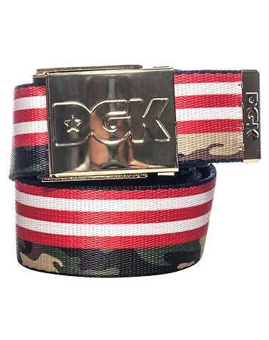 DGK MENS Multi-Color Accessories / Belts One Size
