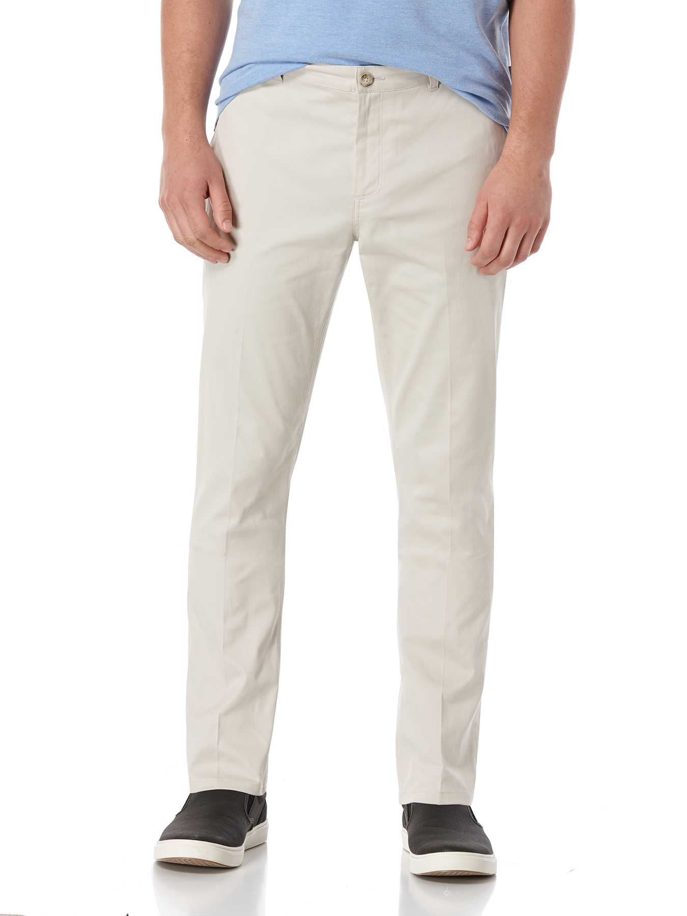 Perry Ellis Bedford Cord Flat Front Pant