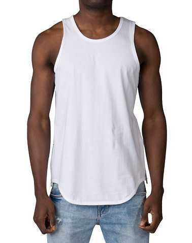 DECIBEL MENS White Clothing / Tank Tops