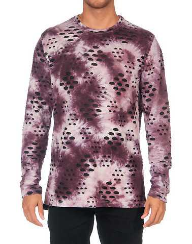 HUDSON OUTERWEAR MENS Purple Clothing / Tops L