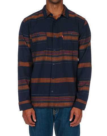 LEVIS MENS Navy Clothing / Button Down Shirts L