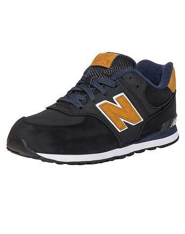 NEW BALANCE BOYS Black Footwear / Sneakers 4
