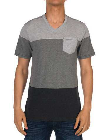 OCEAN CURRENT MENS Grey Clothing / Tees and Polos S
