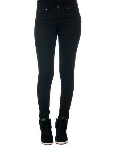 LA BELLE ROC WOMENS Black Clothing / Jeans