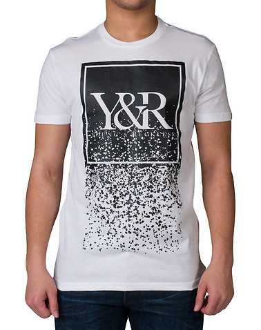 YOUNG AND RECKLESS MENS White Clothing / Tops