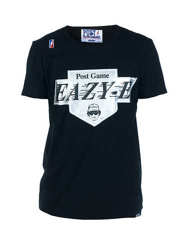 POST GAME MENS Black Clothing / Tees and Polos L