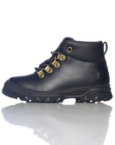 POLO FOOTWEAR BOYS Black Footwear / Boots