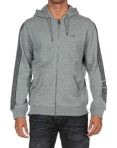 ARMANI JEANS MENS Grey Clothing / Sweatshirts S