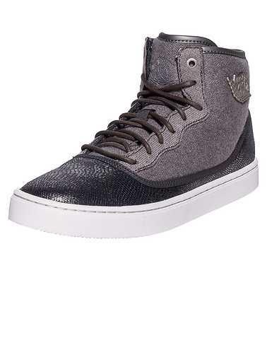 JORDAN GIRLS Grey Footwear / Sneakers