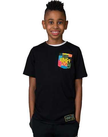 NIKE BOYS Black Clothing / Short Sleeve T-Shirts