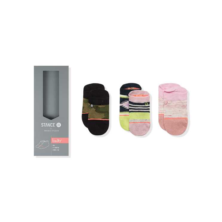 Stance Senorita Box Infant (6-12 MO) baby girls Socks