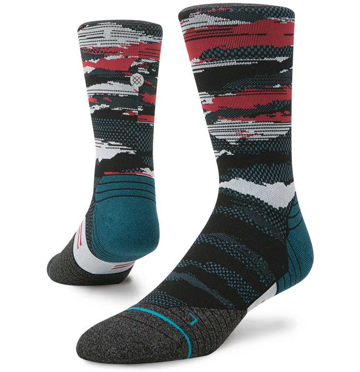 Stance Falcon Crew fusion run Socks