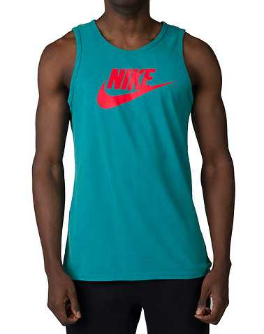 NIKEENSedium Green Clothing / Tank Tops