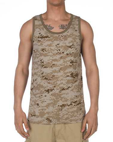 ROTHCO MENS Beige-Khaki Clothing / Tank Tops S