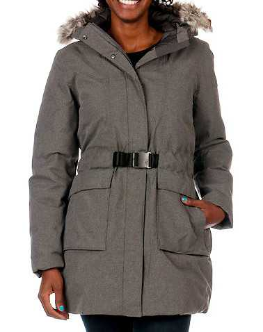 THE NORTH FACE WOMENS Grey Clothing / Heavy Jackets L
