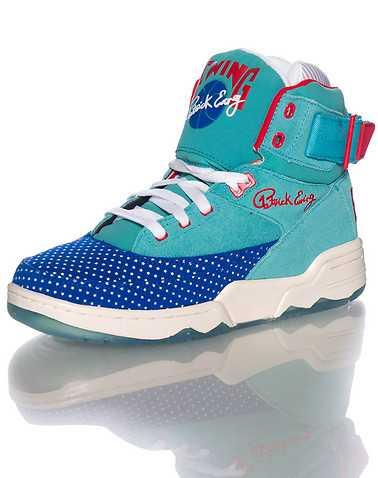EWING ATHLETICS MENS Medium Green Footwear / Sneakers 5