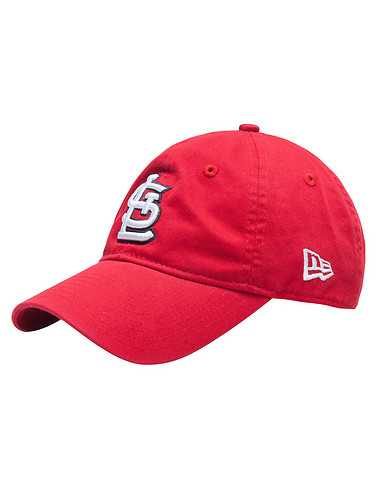NEW ERA MENS Red Accessories / Caps Snapback OSFM