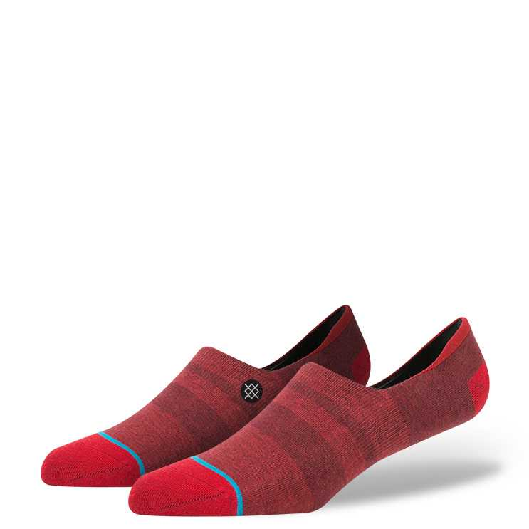 Stance Phase Low RED M super invisible Socks