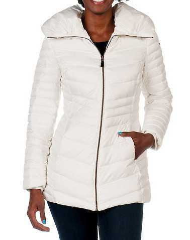 ANDREW MARC WOMENS White Clothing / Heavy Jackets S