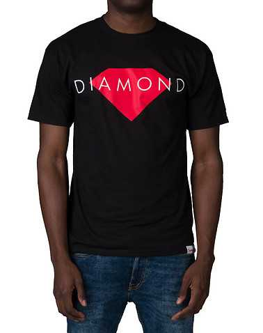DIAMOND SUPPLY COMPANY MENS Black Clothing / Tops S