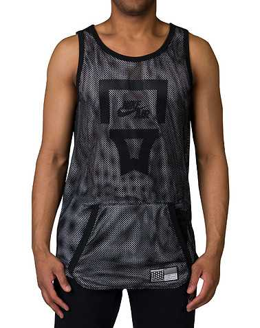 NIKE SPORTSWEAR MENS Black Clothing / Tank Tops 2XL