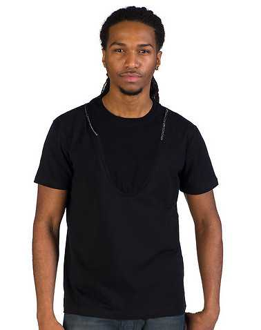 FORTE MENS Black Clothing / Tees and Polos L