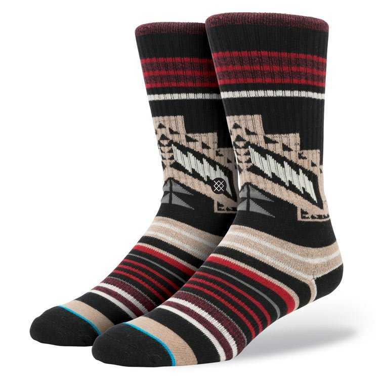 Stance Hawkins 2 BLK L/XL CLASSIC CREW Socks