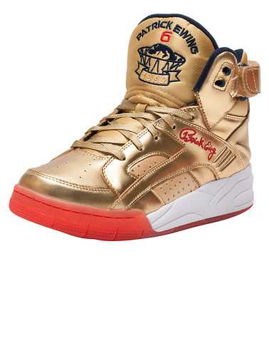 EWING ATHLETICS MENS Gold Footwear / Sneakers