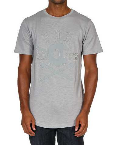 THE POTHEAD DIARIES MENS Grey Clothing / Tops S