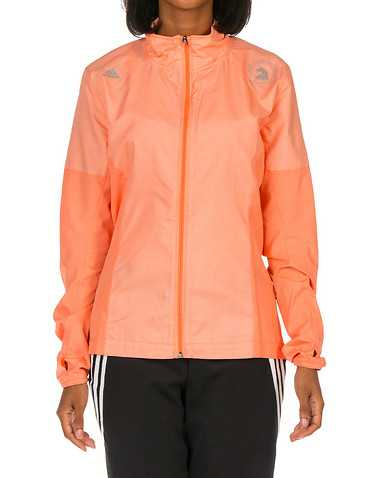 adidas WOMENS Orange Clothing / Light Jackets M