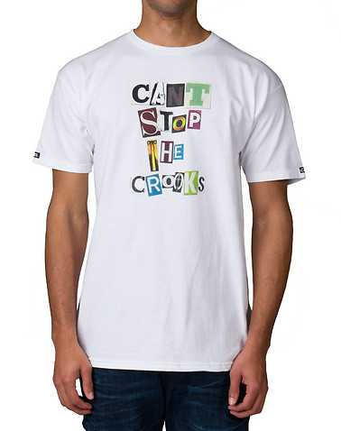 CROOKS AND CASTLES MENS White Clothing / Tops M