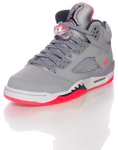 JORDAN GIRLS Grey Footwear / Basketball 4Y