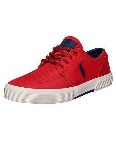 POLO FOOTWEAR MENS Red Footwear / Casual